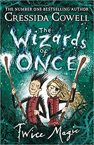 Book Cover: The Wizards of Once: Knock Three Times: Book 3